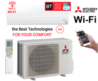 Кондиционер Mitsubishi Electric MSZ-BT20VGK / MUZ-BT20VG (с Wi-Fi)